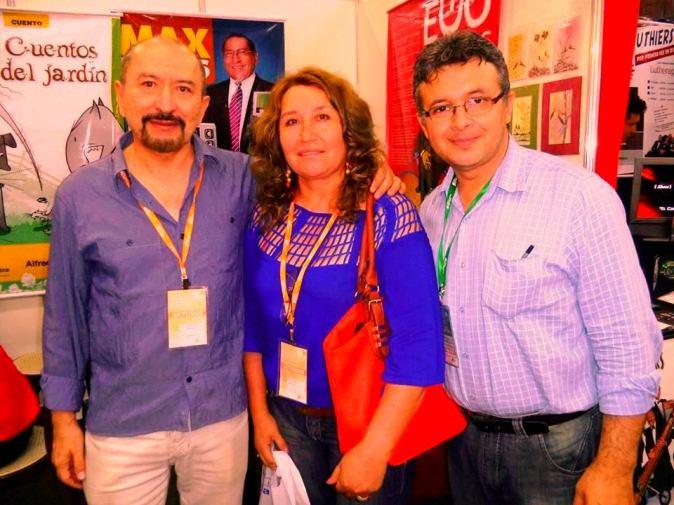 Bolivian Writers at Feria del libro in Santa Cruz